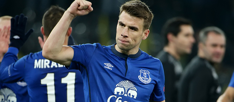 Everton's Seamus Coleman hopeful of return against Manchester United