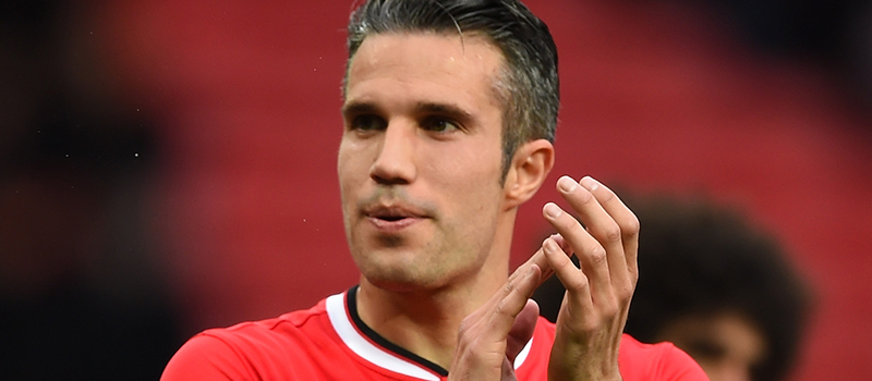 Robin van Persie arrives at Manchester United training despite ongoing speculation over future
