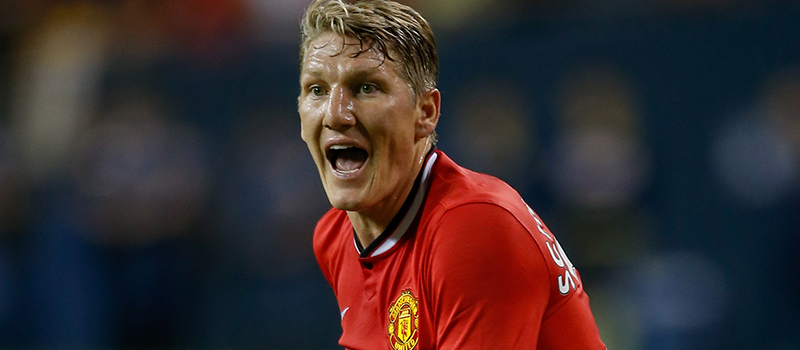 Bastian Schweinsteiger delighted to have made Manchester United debut