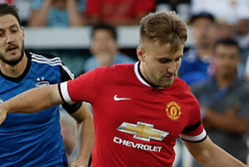 Luke Shaw's hard work in the off season is paying dividends for Manchester United