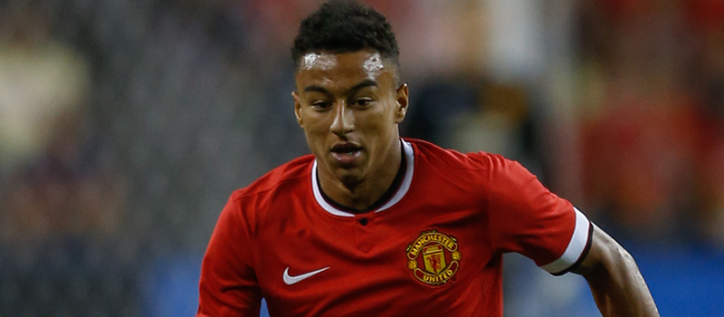 Manchester United's Jesse Lingard delighted with goal against Barcelona