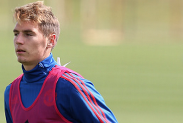 Guillermo Varela scores classy goal for Manchester United U21s