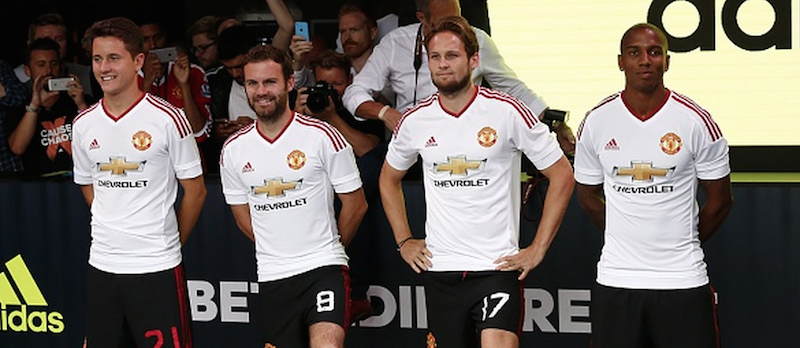 Gallery: Manchester United's new away kit