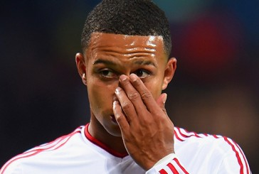 Manchester United's Memphis Depay receives mixed reviews from fans following Aston Villa display
