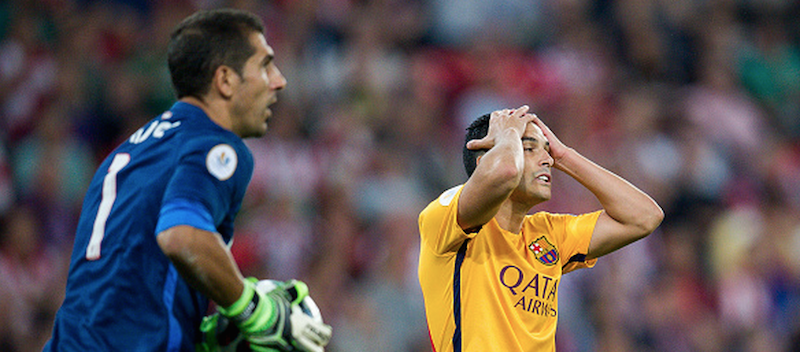 Pedro Rodriguez suffers 4-0 mauling in potentially last ever Barcelona game