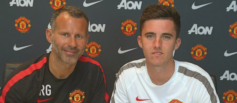 Sean Goss signs new Manchester United contract