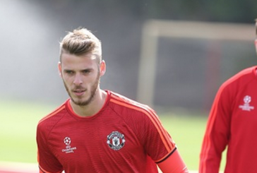 Photos: David de Gea trains with Manchester United ahead of Club Brugge game