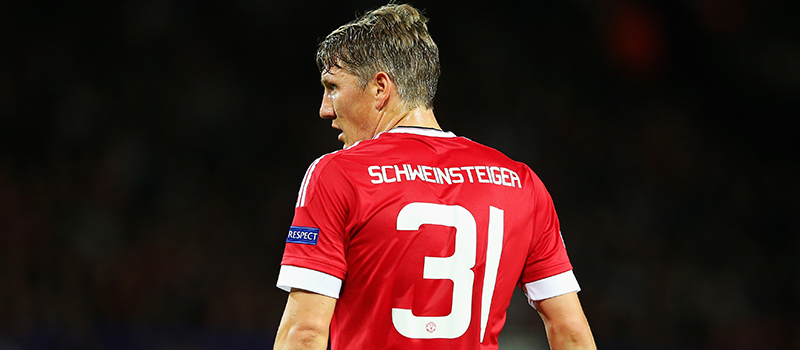 Bastian Schweinsteiger expected to be fit for Manchester United's game with Everton