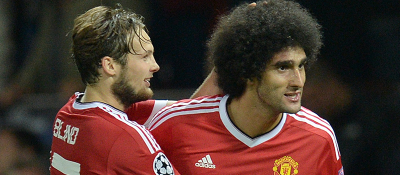Marouane Fellaini happy to get on scoresheet for Manchester United against Club Brugge