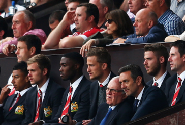 Victor Valdes and Jonny Evans missing from Old Trafford as double exit looms
