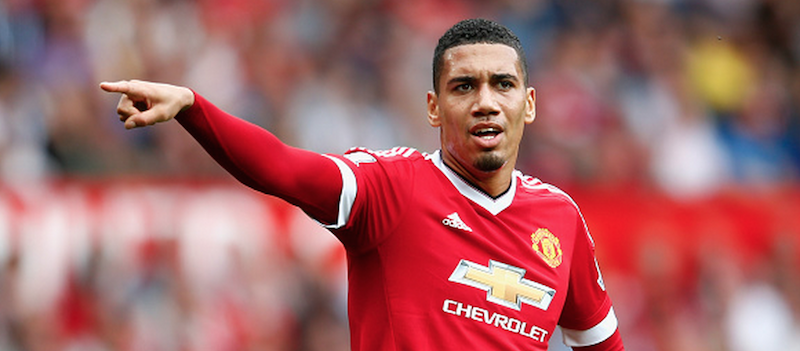 Chris Smalling's commanding performances continue against Newcastle but he's left disappointed