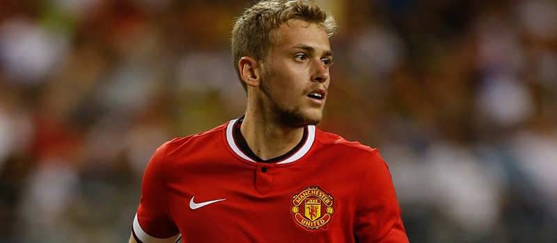 Manchester United's James Wilson handed first England U21 call-up