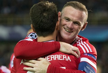 Louis van Gaal 'very happy' for Wayne Rooney following hat-trick against Club Brugge