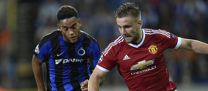 Manchester United's Luke Shaw continues fantastic run of form against Club Brugge