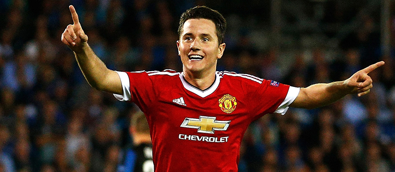 Manchester United's Ander Herrera catches the eye against Club Brugge