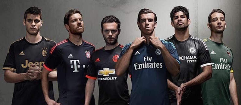 Photos: Manchester United officially launch Adidas third kit