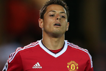 Video: Louis van Gaal's hilarious reaction to Javier Hernandez penalty miss vs Club Brugge
