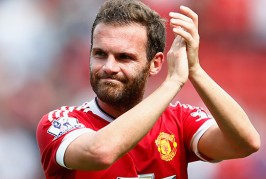 Mata embraces Chelsea players after draw