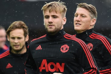 Louis van Gaal: Everything is going well with Luke Shaw
