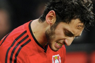 From Germany: Manchester United scouts watch Hakan Calhanoglu against AS Roma