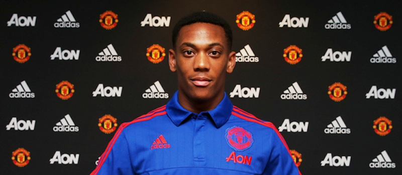 Video: First footage of Anthony Martial in Manchester United training