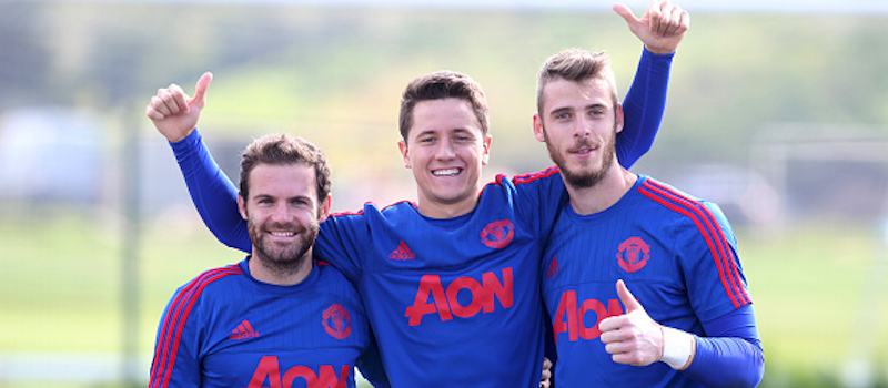 David de Gea could snub Manchester United deal if Mata and Herrera leave club – report