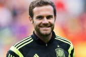 Mata and De Gea land in Spain for Euro 2016 qualifiers