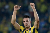 """Van Persie: """"I'm not very happy at this moment"""""""