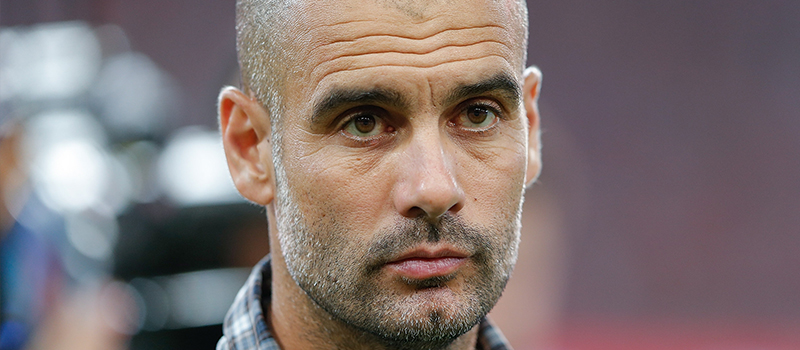 Manchester United have a '20%' chance of landing Pep Guardiola – report