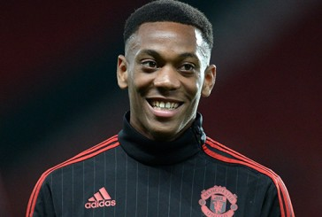 Manchester United's Anthony Martial impresses on the wing against Everton