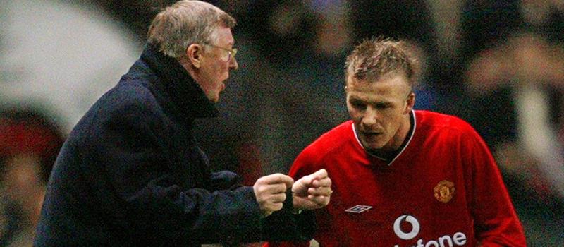 David Beckham praises Louis van Gaal for following Sir Alex Ferguson's lead and promoting youth