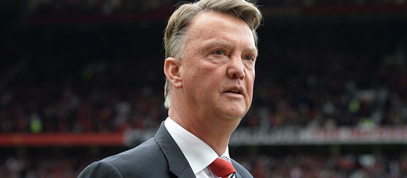 Norwich City fans taunt under pressure Manchester United boss Louis van Gaal