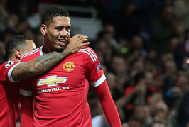 Smalling continues commanding form against Wolfsburg