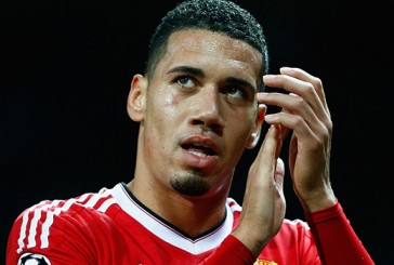 Manchester United's Chris Smalling named in official Champions League Team of the Week