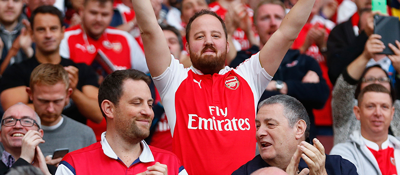 Video: Man United fans still singing after Arsenal