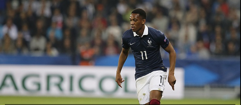 Anthony Martial slated for performance in France win over Armenia