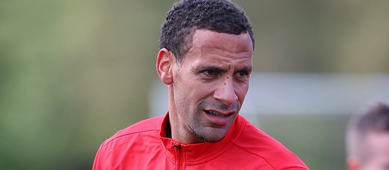 Rio Ferdinand voted best right-sided centre back