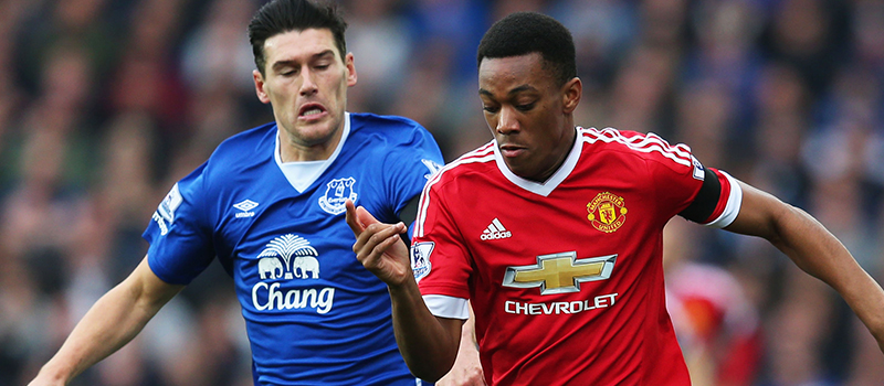 Anthony Martial happy with great performance against Everton