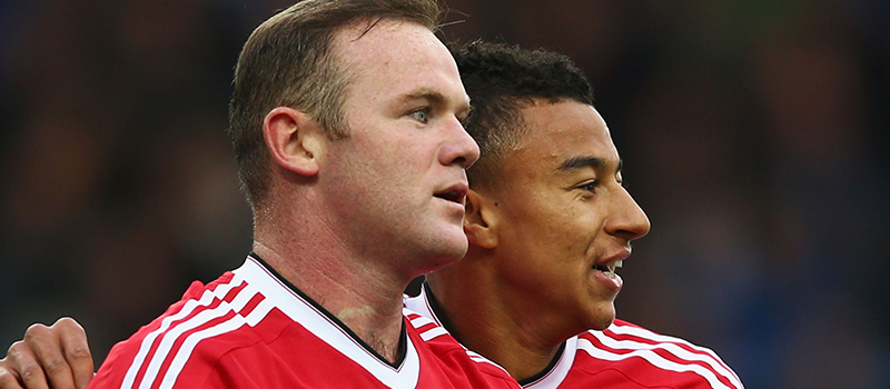 Jesse Lingard praises Wayne Rooney's influence at Manchester United