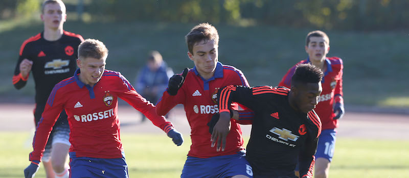 CSKA Moscow 4-0 Manchester United: Timothy Fosu-Mensah plays full 90 minutes