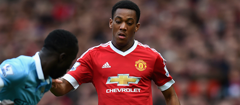 Anthony Martial's display against Manchester City encourages Manchester United fans