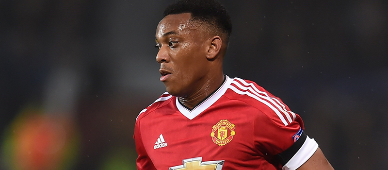 Manchester United's potential XI vs Stoke City: Anthony Martial starts up top