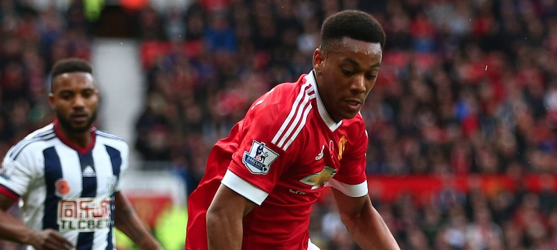 Anthony's Martial's wife confirms that the Manchester United forward is not injured