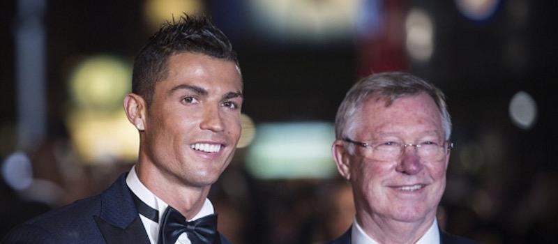 Photo gallery: Sir Alex Ferguson and Cristiano Ronaldo re-united