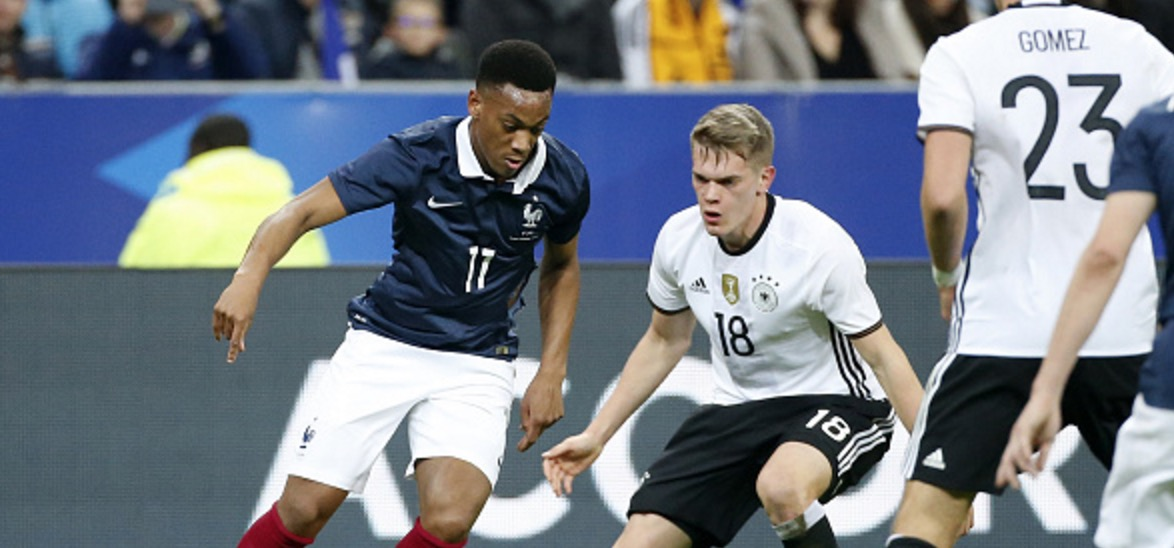 Anthony Martial Shines For France In Win Over Germany