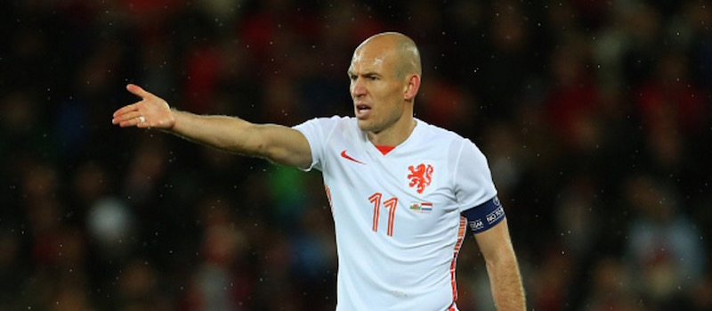 Manchester United monitoring Arjen Robben's situation at Bayern Munich – report