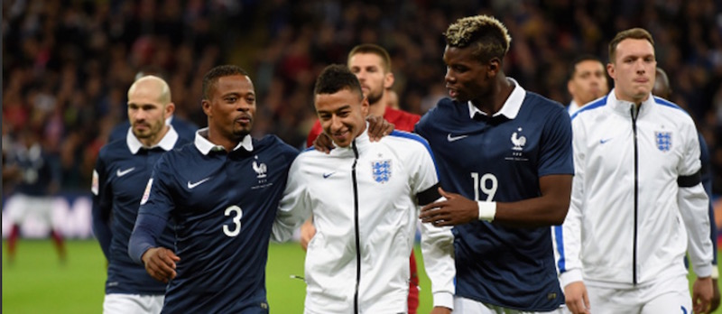 Patrice Evra hits out at 'unfair' Paul Pogba criticism
