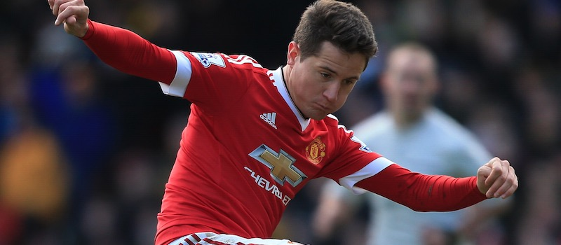 Ander Herrera and Phil Jones will miss PSV game through injury