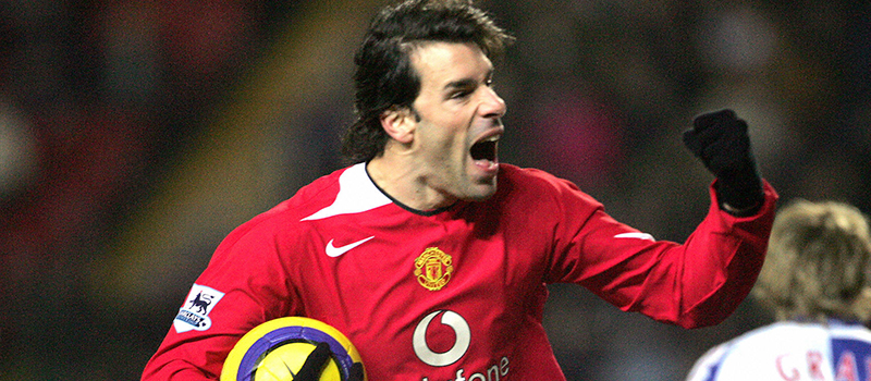 Ruud Van Nistelrooy voted best ever Manchester United striker