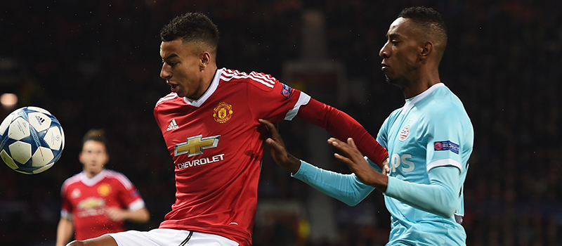 Jesse Lingard impresses despite Manchester United's poor display against PSV Eindhoven